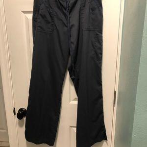 Charcoal grey size L Greys Anatomy scrub pants